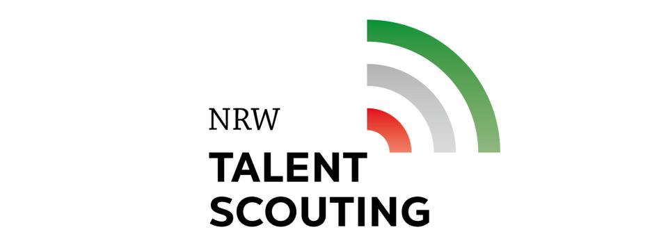 Logo des NRW Talent Scoutings
