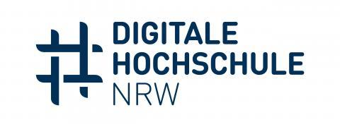 Das Logo von DH.NRW